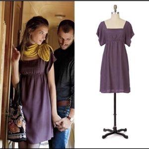 "Muted Lavender Kimono ""Alyssum"" Maeve Dress"